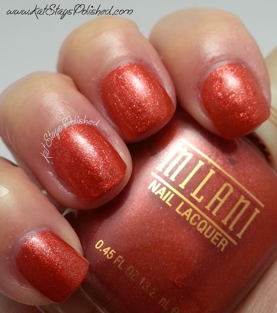 Milani Nail Lacquer - Iced Mango
