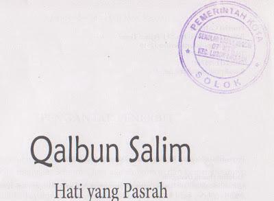 Stempel PEMDA-Qalbun Salim