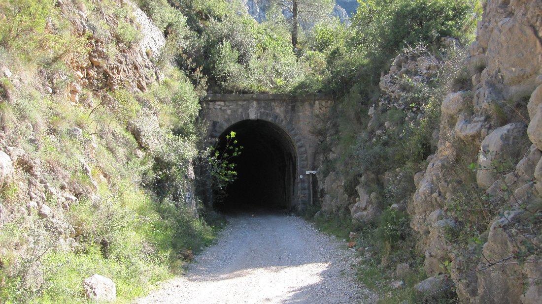 Túnel de la Mina Llarga Racó del Duc