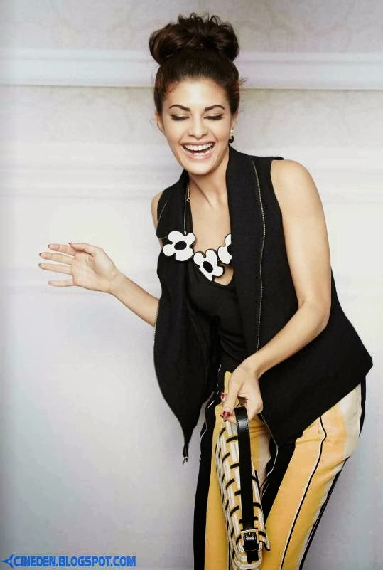 Jacqueline Fernandez on L'Officiel Magazine October 2013 - CineDen