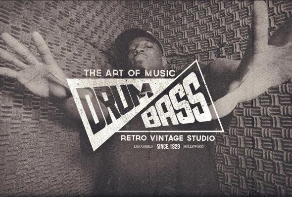 vintage logo bagdge