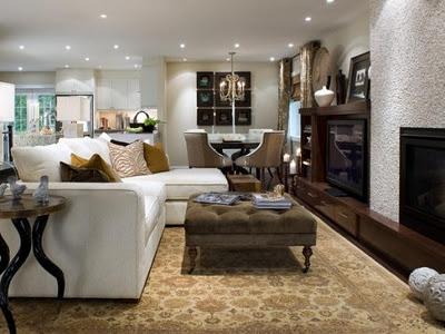 Decoraci n salones confortables y elegantes decoracionsalones blog - Blog decoracion salones ...