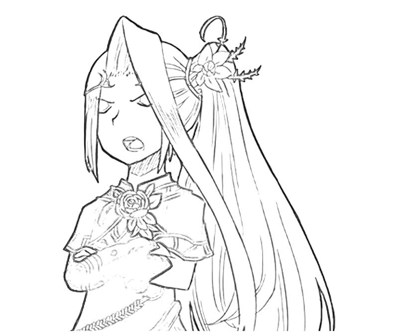 Palutena Kid Icarus Coloring Pages Sketch Coloring Page