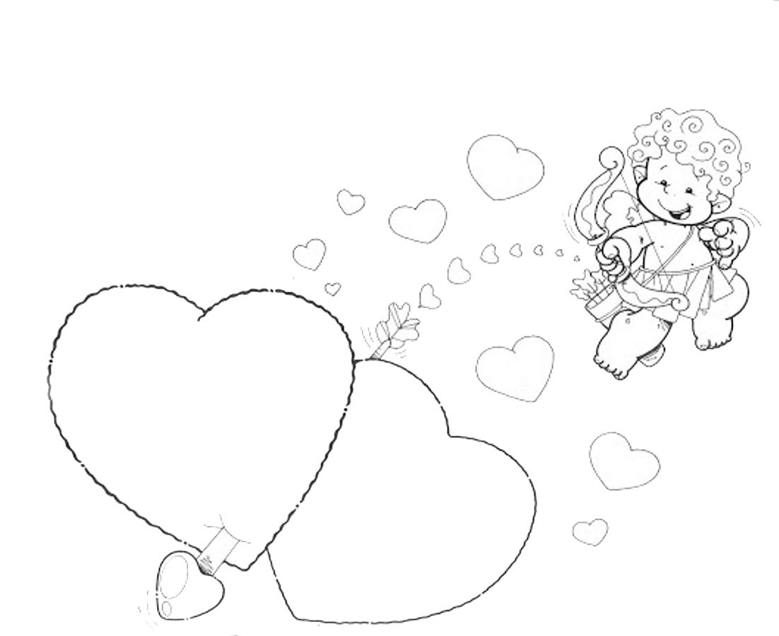 Dibujos y Plantillas para imprimir: Dibujos para San valentin
