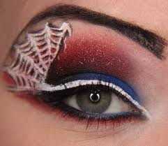 Snake/Spider Web Eye Makeup