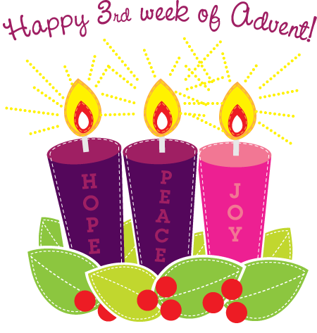 Third Week of Advent!!