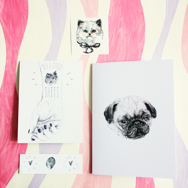 illustrated products from harriet gray