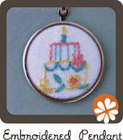 embroidered pendant tutorial septemberhouse