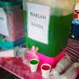 Seleksi Nama Juadah Unik Bazaar Ramadhan