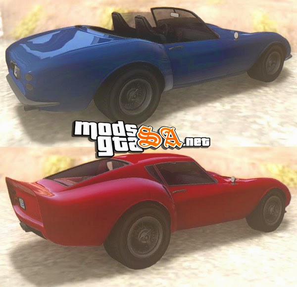 SA - Grotti Stinger e GT V2.0 do GTA V