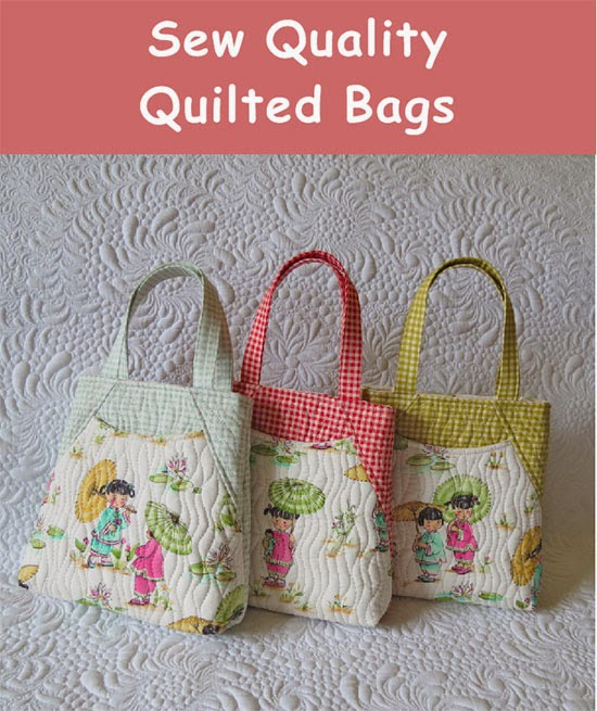 how to make a quilted tote bag with zipper