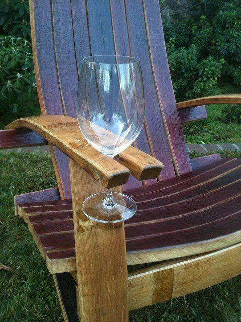 Ideas : Silla con posa copa para el vino
