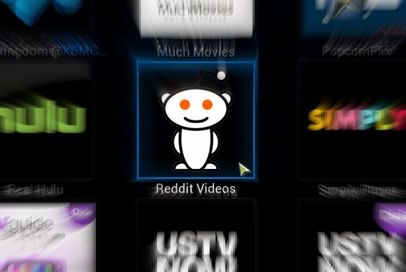 Reddit videos add-on for xbmc