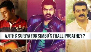 AJITH & SURIYA for SIMBU's Thalli Pogathey ?