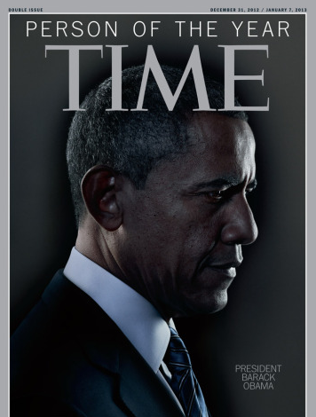 President Barrack Obama Is Time Magazine's Man Of The Year