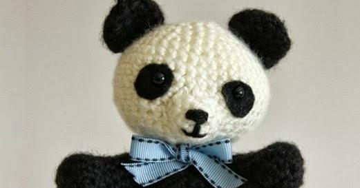 Amigurumi Oso Panda Patron : Patrones amigurumi pablo el panda juguetón
