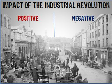 the effects of the industrial revolution The factory system, a product of the industrial revolution in europe, began to  divide the  and the new emphasis on productivity had a negative effect on  quality.
