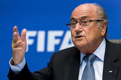 Presiden FIFA Sepp Blatter Letak Jawatan