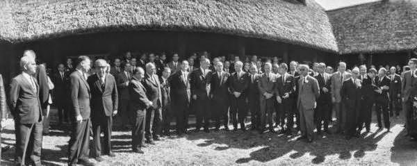 Heads of State at Latin American Summit conference. Punta Del Este, Uruguay