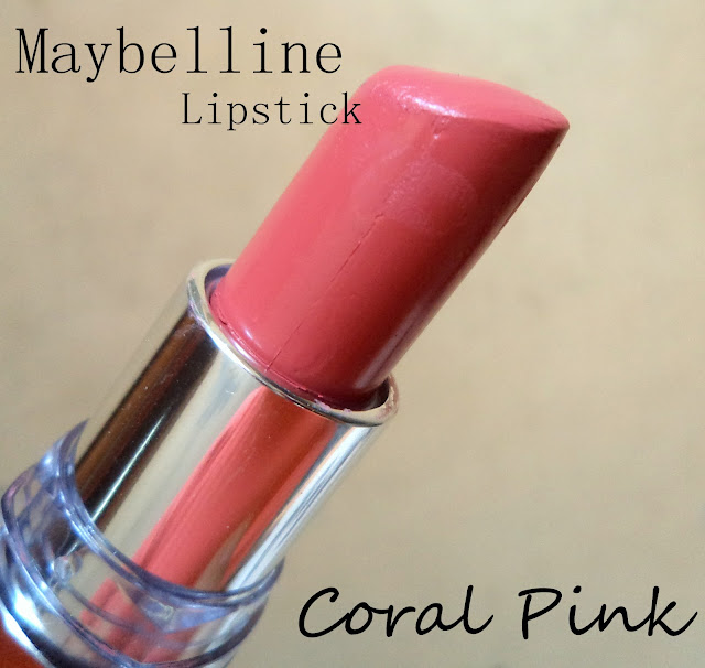 maybelline coral pink lip