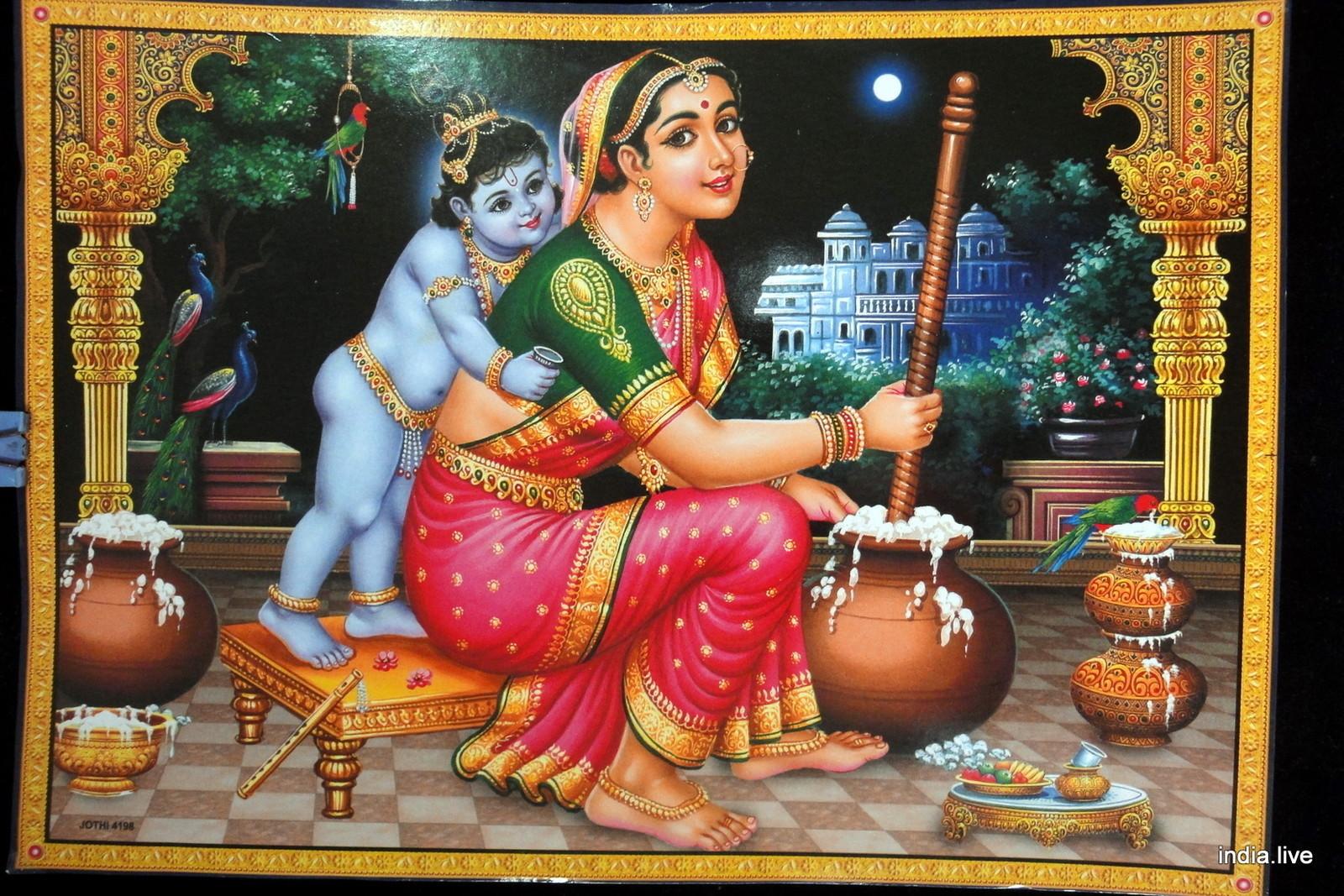 Ihot Wallons Picture Collection Krishna Yashoda Super Hd Wallpaper