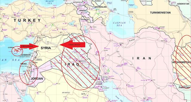 Нападения на Сирию, Захват Сирии