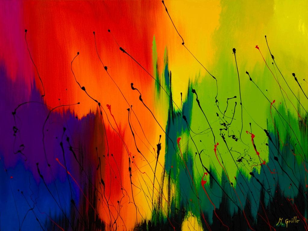 Los mejores pintores fot grafos y escultores de colombia for Fotos cuadros abstractos modernos