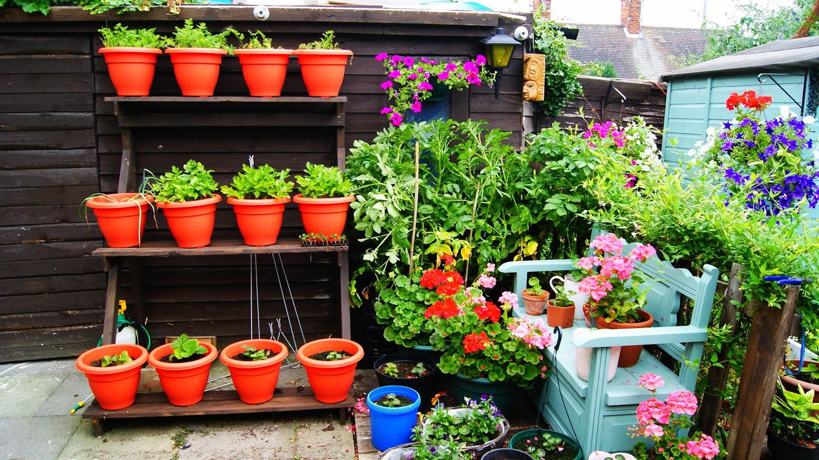 The Syders Thrifty Garden Build A Vertical Vegetable Garden