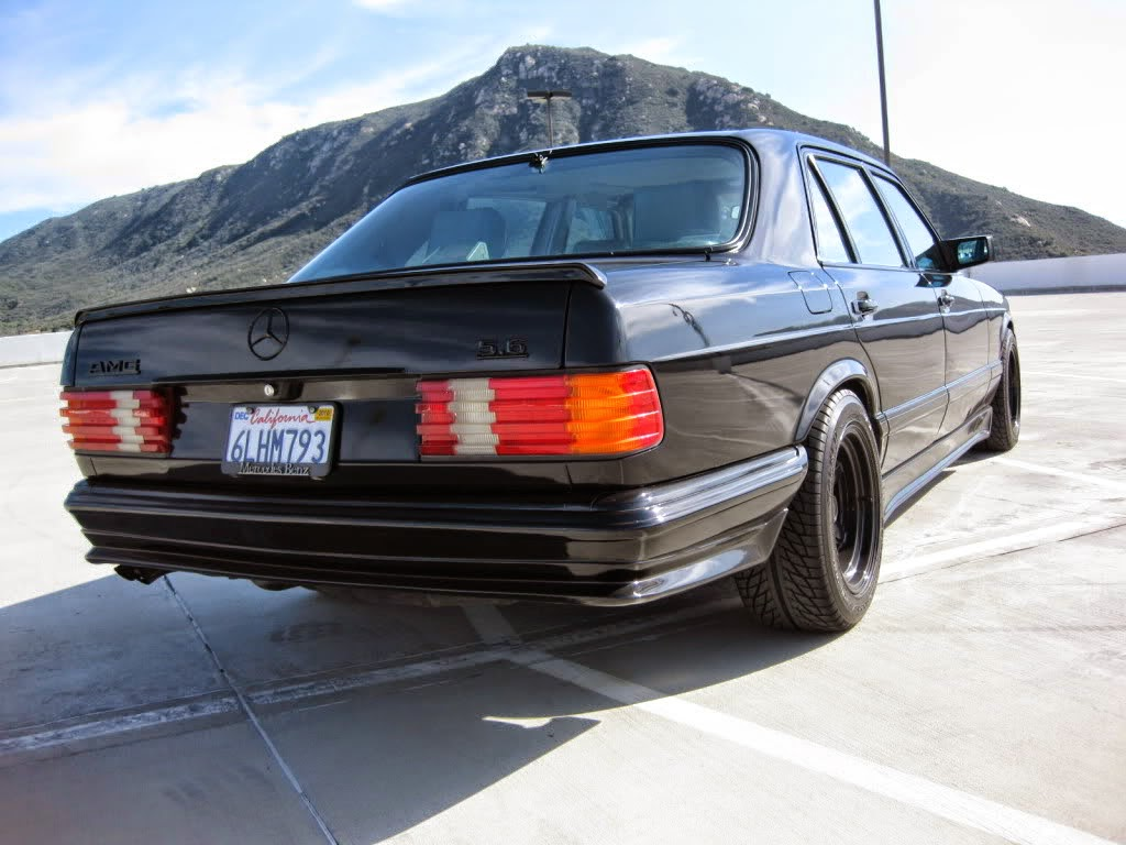 Mercedes benz w126 5 6 amg shadow line benztuning for Mercedes benz w126