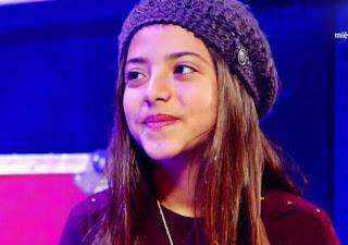 Evelyn canta Si tienes fe Voz Kids 2015