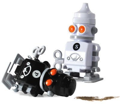 Rock 39 n roll stops the traffic finds of the week 7 Salt and pepper robots