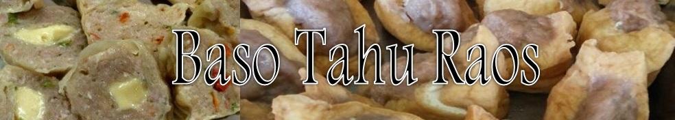 Baso Tahu Raos