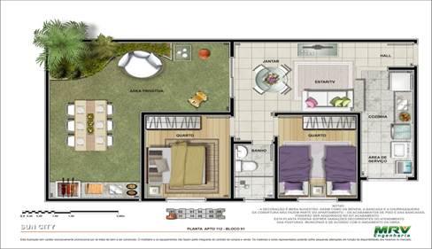Plantas de casas da caixa economica federal for Casa moderna economica