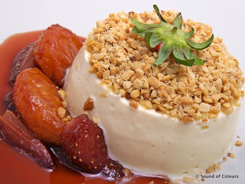 Allez Cuisine: Vanilla Cheesecake with Caramelized Strawberries and ...