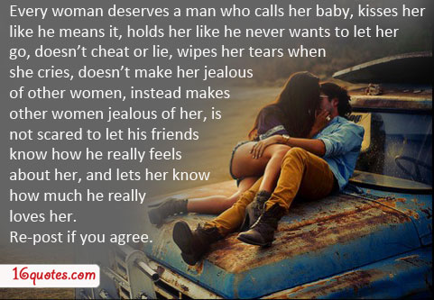 A man wants a woman to be his first love