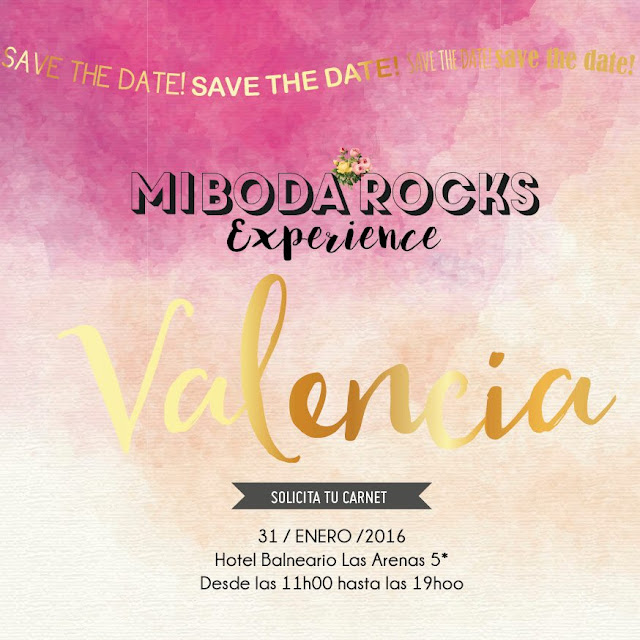 Mi Boda Rocks Experience Valencia 31 enero 2016 Hotel Balneario Las Arenas