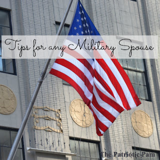 military spouse wisdom, tips for military spouses