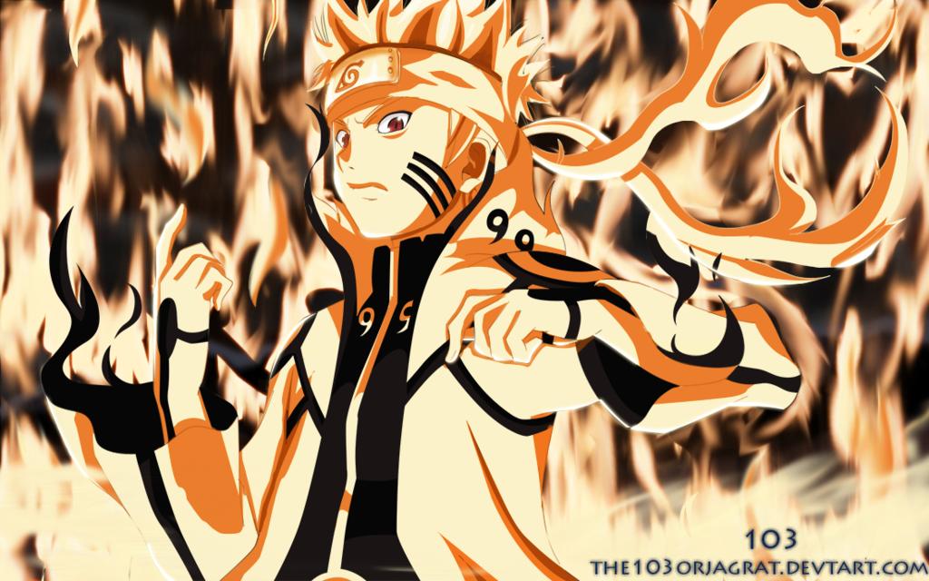 Kumpulan Gambar Wallpaper Naruto Bijuu Mode Keren TerbaruNaruto And Minato Bijuu Mode