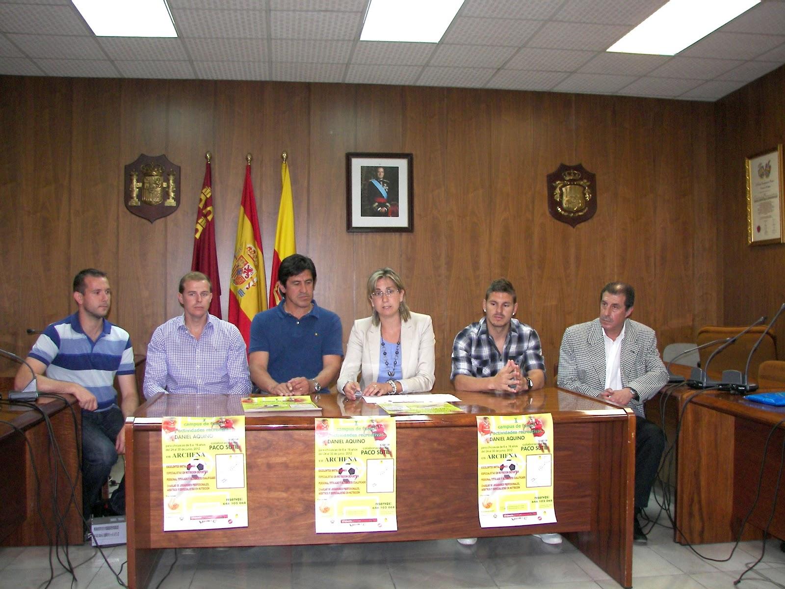 Archena news el i campus de f tbol y actividades for Actividades recreativas en el salon de clases