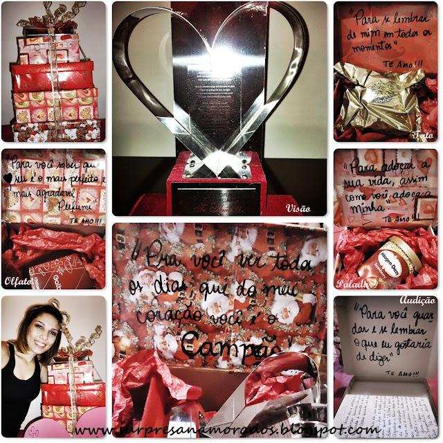 troféu para namorado