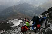 Expeditie masivul Mont-Blanc 2008  Franta