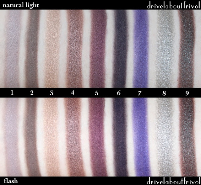swatches Catrice Eyeshadows Eyeshadow Mono Grey's Philosophy, Starlight Espresso, Oh, It's Toffee-ful, My First Copperware Party, Heidi Plum (OLD), Heidi Plum (NEW), Don't Lie, Lac, The Noble Knights, C'Mon Chameleon