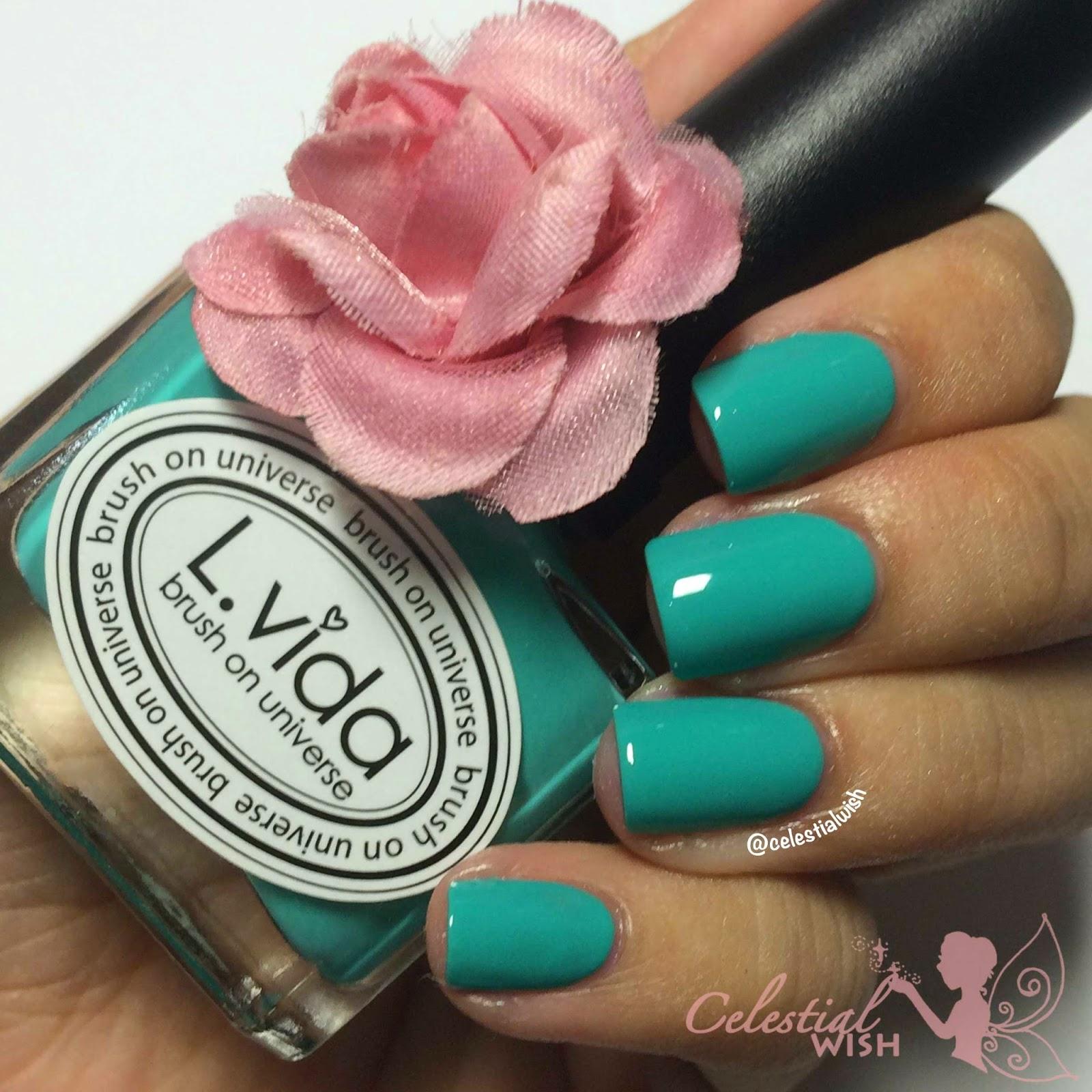 L.Vida -Aqua Green (LC24)