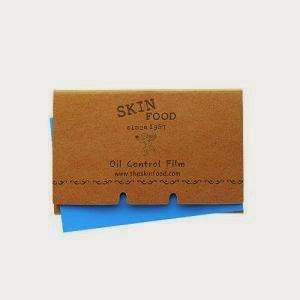 Матирующие салфетки Skinfood Oil Control Film