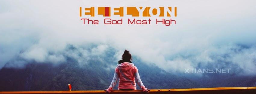 Facebook Cover El-Elyon The God Most High