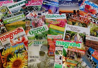 polskie czasopisma i gazety ogrodnicze