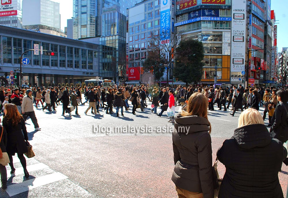 Shibuya Crossing Photo Japan
