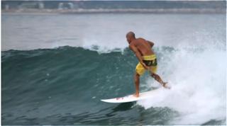 Kelly Slater freesurf