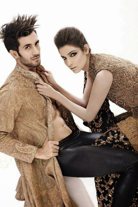 HSY Vintage Couture Collection shahzad noor amna ilyas