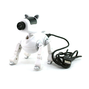"CENTRUM LINK - ""ROBOTIC DOG WEBCAM WITH MIC"" - NEW"